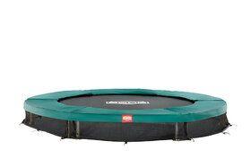 Berg talent trampoline inground 240 cm groen