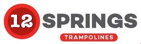 12 Springs Extra trampoline inground 305 cm met premium beschermrand groen