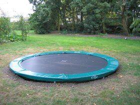 Trampoline bekisting 365 cm, 3 - planken hoog.
