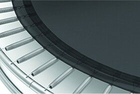Akrobat Primus Premium Flat to the Ground Trampoline 430x305