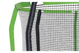 Akrobat Stormer trampoline op poten 480 cm met premium beschermrand grijs