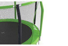 Akrobat Stormer trampoline op poten 430 cm met premium beschermrand grijs