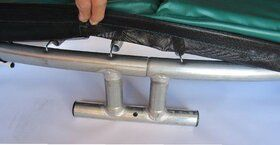 Akrobat Orbit Inground Trampoline 365 Groen incl. Veiligheidsnet