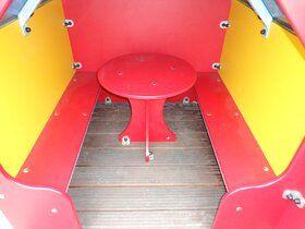 Professioneel kunststof speelhuisje zonder veranda