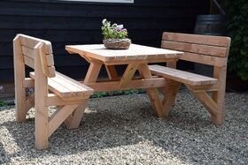 Picknicktafel 4-persoons