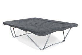 PVC afdekhoes grijs voor trampoline van 215 x 155 cm