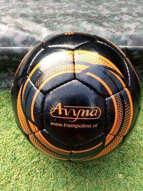 Twee aluminium voetbaldoelen & Avyna bal