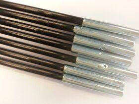 Veiligheidsnet grijs voor Ø430 cm trampoline + glasfiber