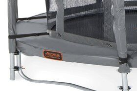 Veiligheidsnet grijs voor Ø245 cm trampoline + glasfiber