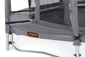 Veiligheidsnet grijs voor Ø305 cm trampoline + glasfiber