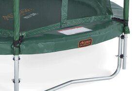 Veiligheidsnet groen voor Ø365 cm trampoline + glasfiber