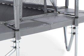 Veiligheidsnet grijs voor TEPL-23 trampoline
