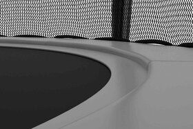 Akrobat Stormer trampoline 305 cm met veiligheidsnet grijs