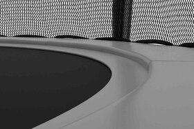 Akrobat Stormer trampoline 480 cm met veiligheidsnet grijs