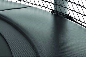 Akrobat Gallus trampoline 480 cm met heavy duty veiligheidsnet grijs