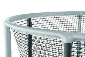 Akrobat Gallus trampoline 365 cm met heavy duty veiligheidsnet grijs