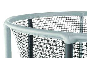 Akrobat Gallus trampoline 430 cm met heavy duty veiligheidsnet grijs
