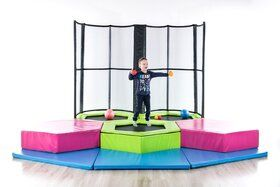 Peuter Mini Trampolinepark, 3 trampolines