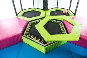 Akrobat mini Trampolinepark, 4 trampolines