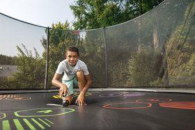 Berg Favorit Levels + Safety Net Comfort 430 cm Grijs