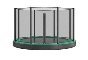 Akrobat Orbit Inground Trampoline 365 Groen