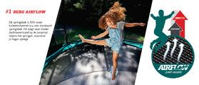 Berg Elite trampoline inground 430 cm grijs