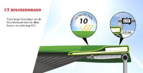Berg Champion Regular 330 groen + Safety Net Comfort
