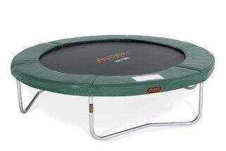 Avyna Pro-line trampoline op poten 305 cm met medium beschermrand groen Groen