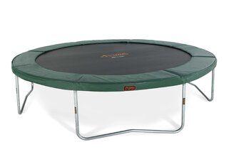 Avyna Pro-line trampoline op poten 365 cm met medium beschermrand groen Groen