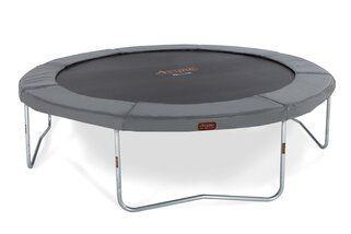 Avyna Pro-line trampoline op poten 365 cm met medium beschermrand grijs Grijs