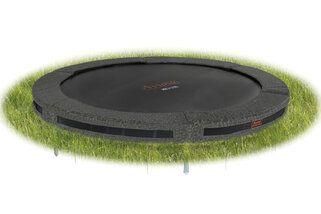 Avyna Pro-line trampoline inground 365 cm met medium beschermrand camouflage Camouflage