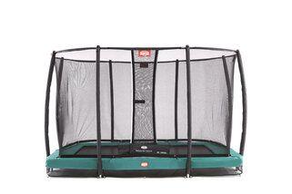 Berg trampoline inground eazyfit + safetynet eazyfit 220 x 330 cm groen Groen