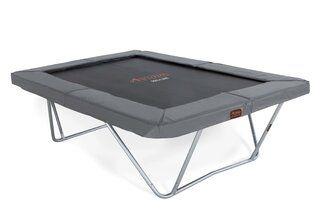Avyna Pro-line trampoline op poten rechthoekig 300 x 225 cm met medium beschermrand grijs Grijs