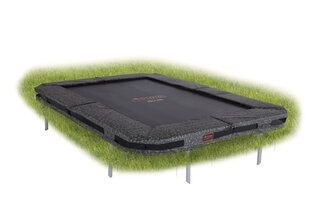 Avyna Pro-line trampoline inground rechthoekig 300 x 225 cm met medium beschermrand camouflage Camouflage