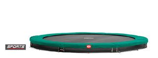 Berg champion trampoline inground 430 cm groen Groen