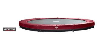 Berg Elite+ trampoline inground 380 cm rood Rood