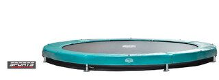 Berg Elite+ trampoline inground 380 cm groen Groen