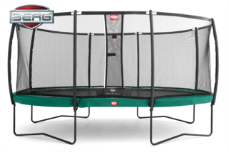 Berg Grand Champion + Safety Net Deluxe 520 x 345 cm Groen Groen