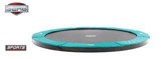 Berg FlatGround Champion trampoline 380 cm groen. Groen