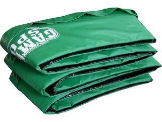 Game on Sport 244 cm groen Randkussen Groen
