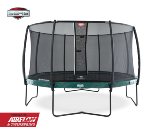Berg Elite 380 groen + Safety Net Deluxe Groen
