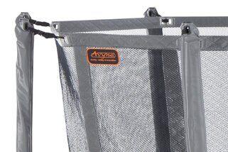 Veiligheidsnet grijs voor Ø245 cm trampoline + glasfiber Grijs