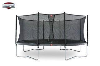 Berg Grand Favorit + Safety Net Comfort 520 x 345 cm Grijs Grijs