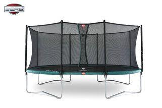 Berg Grand Favorit + Safety Net Comfort 520 x 345 cm Groen Groen