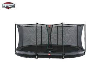 Berg Grand Favorit InGround + Safety Net Comfort 520 x 345 cm Grijs Grijs