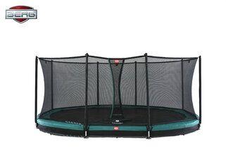 Berg Grand Favorit InGround + Safety Net Comfort 520 x 345 cm Groen Groen