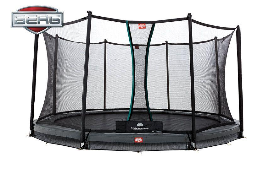berg champion trampoline inground safetynet comfort 430 cm grijs trampolines ben spelen. Black Bedroom Furniture Sets. Home Design Ideas